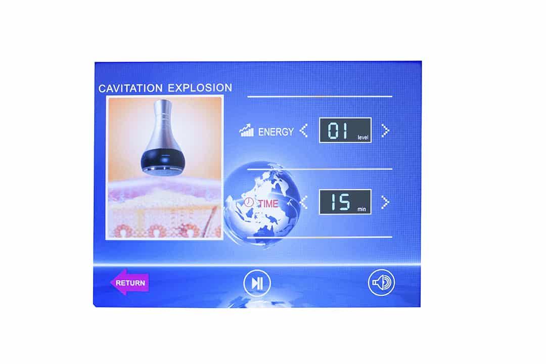 Salon Complet, Cavitatie, Aparat cavitatie cu LipoLaser, radiofrecventa si vacuum