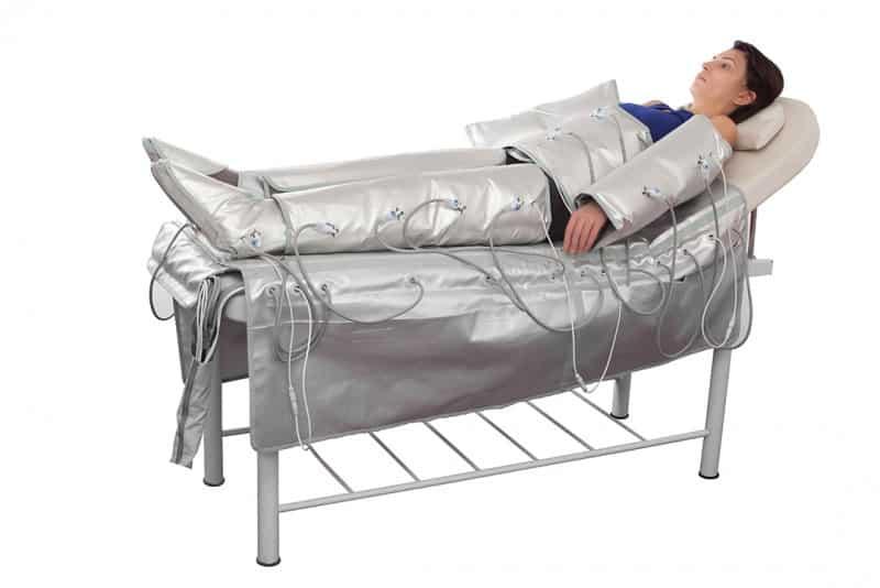 Salon complet, Drenaj limfatic, Aparat presoterapie cu electrostimulare si infrarosu A