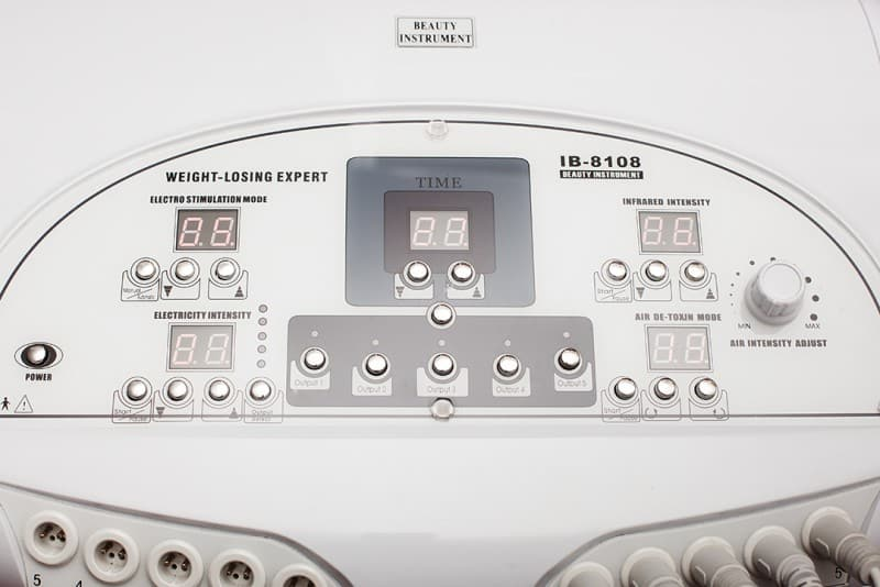 Salon complet, Drenaj limfatic, Aparat presoterapie cu electrostimulare si infrarosu C