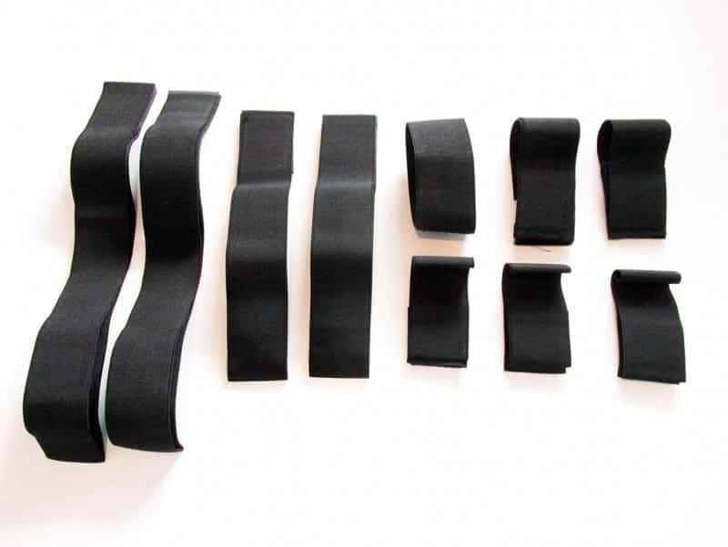 Salon Complet, Accesorii aparate, Benzi elastice electrostimulator 10 buc