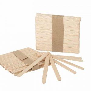 Salon complet, Consumabile, Spatule epilare faciala lemn – 100 buc
